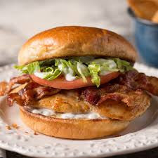 Ranch Chicken Sandwich w/Bacon & Melted Provolone