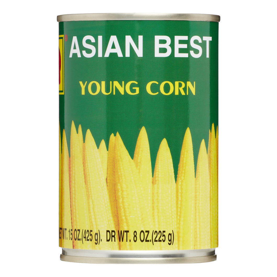 Asian Best - Young Corn in Brine (22 Count)