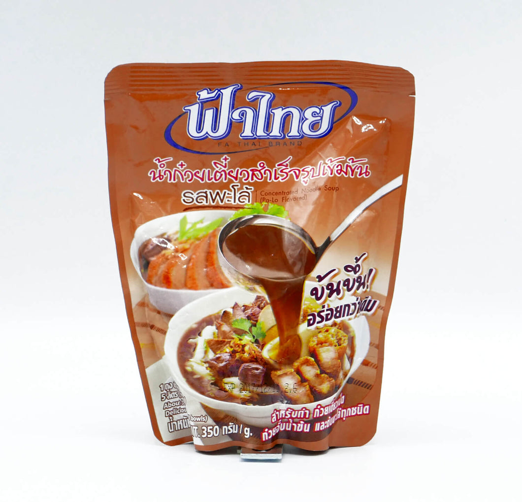 Fa Thai Concentrated Noodle Soup (Pa-lo Flavored) น้ำก๋วยเตี๋ยวสำเร็จรูป รสพะโล้