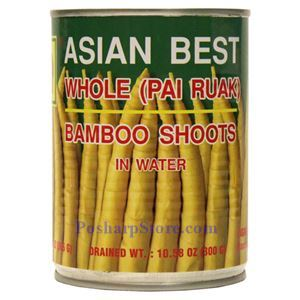 Asian Best - Whole Bamboo Shoot in Water หน่อไม้ไผ่รวก