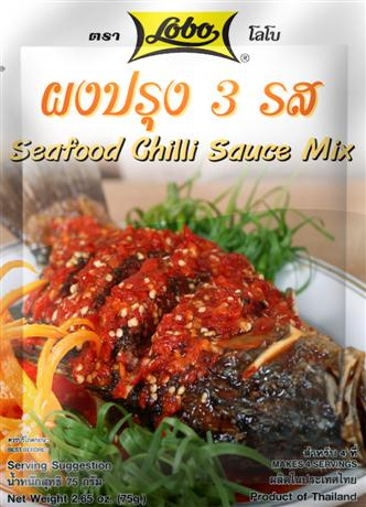 Lobo Seafood Chilli Sauce Mix ผงปรุง 3 รส
