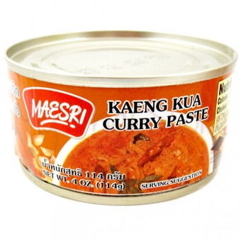 Maesri - Kaeng Kua Curry Paste น้ำพริกแกงคั่ว - 3 Aunties Thai Market