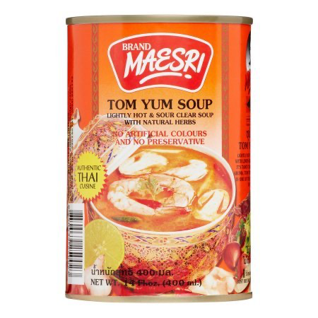 Maesri - Tom Yum Soup ต้มยำ
