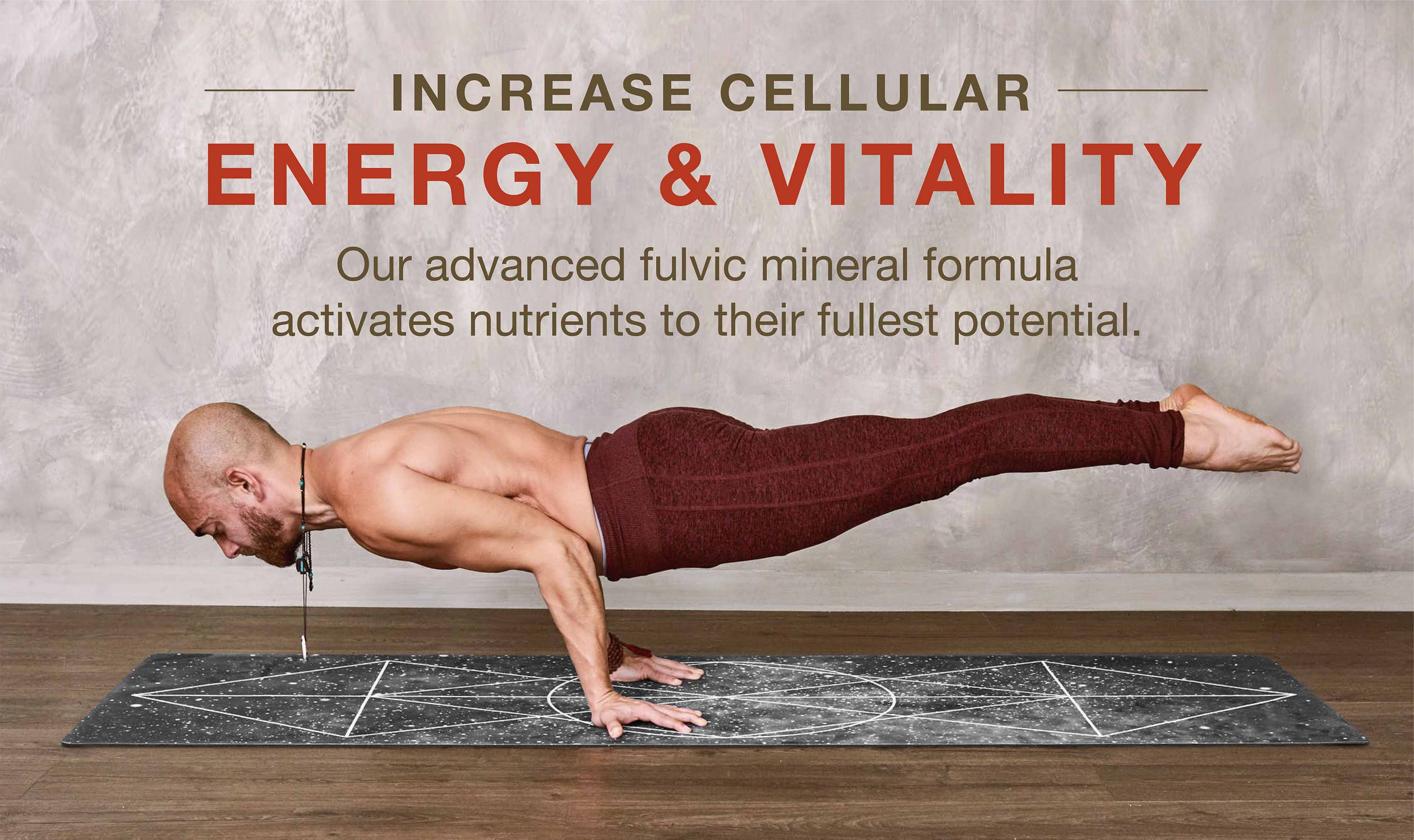 Increasing cellular energy and vitality, our advanced fulvic mineral formula activates nutrients to their fullest potential.