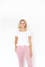 LIGHT MAUVE WOMENS JOGGERS