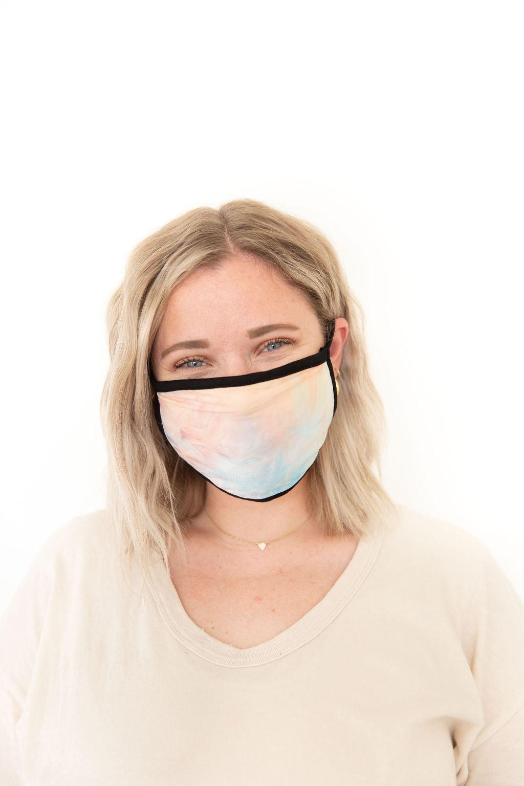 MULTI TIE DYE - ADULT FACE MASK