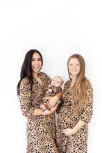TAN CHEETAH WOMEN'S ROBE