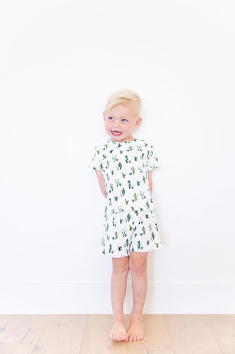 ARIZONA GREEN CACTUS SHORT SET