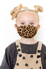 LEOPARD - ADULT/TODDLER FACE MASK