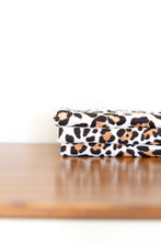WHITE LEOPARD SWADDLE