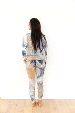 GREY + DARK/LIGHT BLUE + SAND TIE DYE - LONG SLEEVE