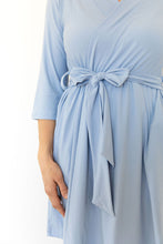 PERIWINKLE WOMEN'S SHORT ROBE
