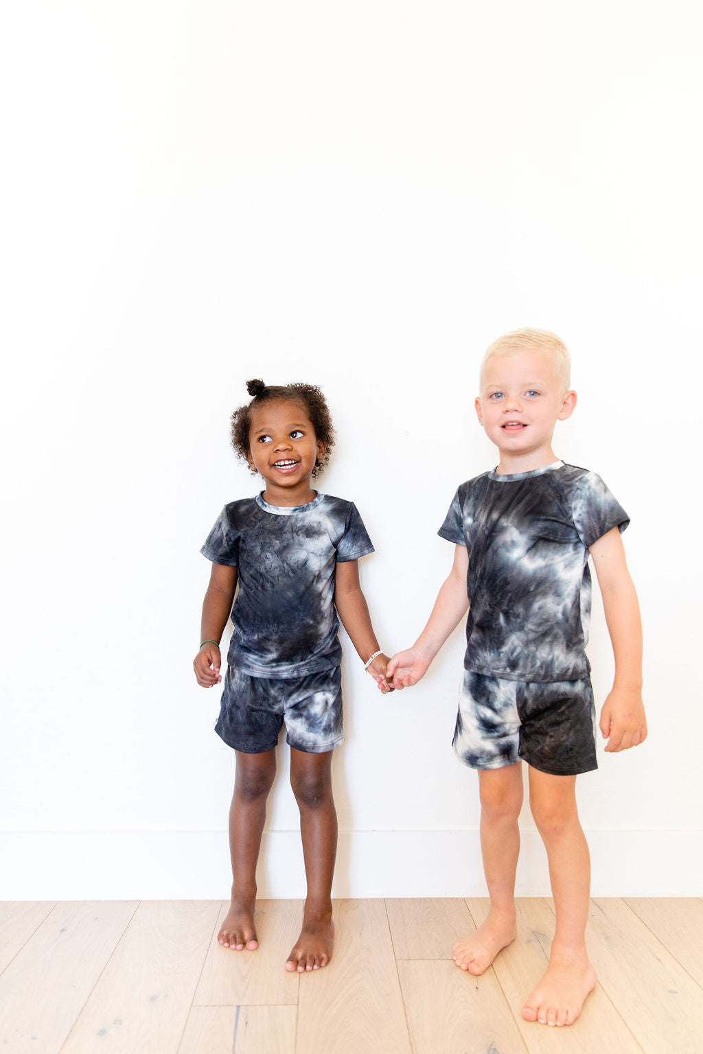 DARK TIE DYE BOY SHORT SET