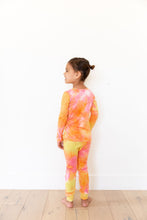 BRIGHT PINK + ORANGE + YELLOW TIE DYE