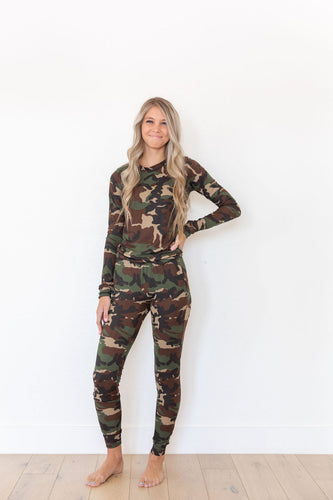 CAMO RIBBED - LONG SLEEVE
