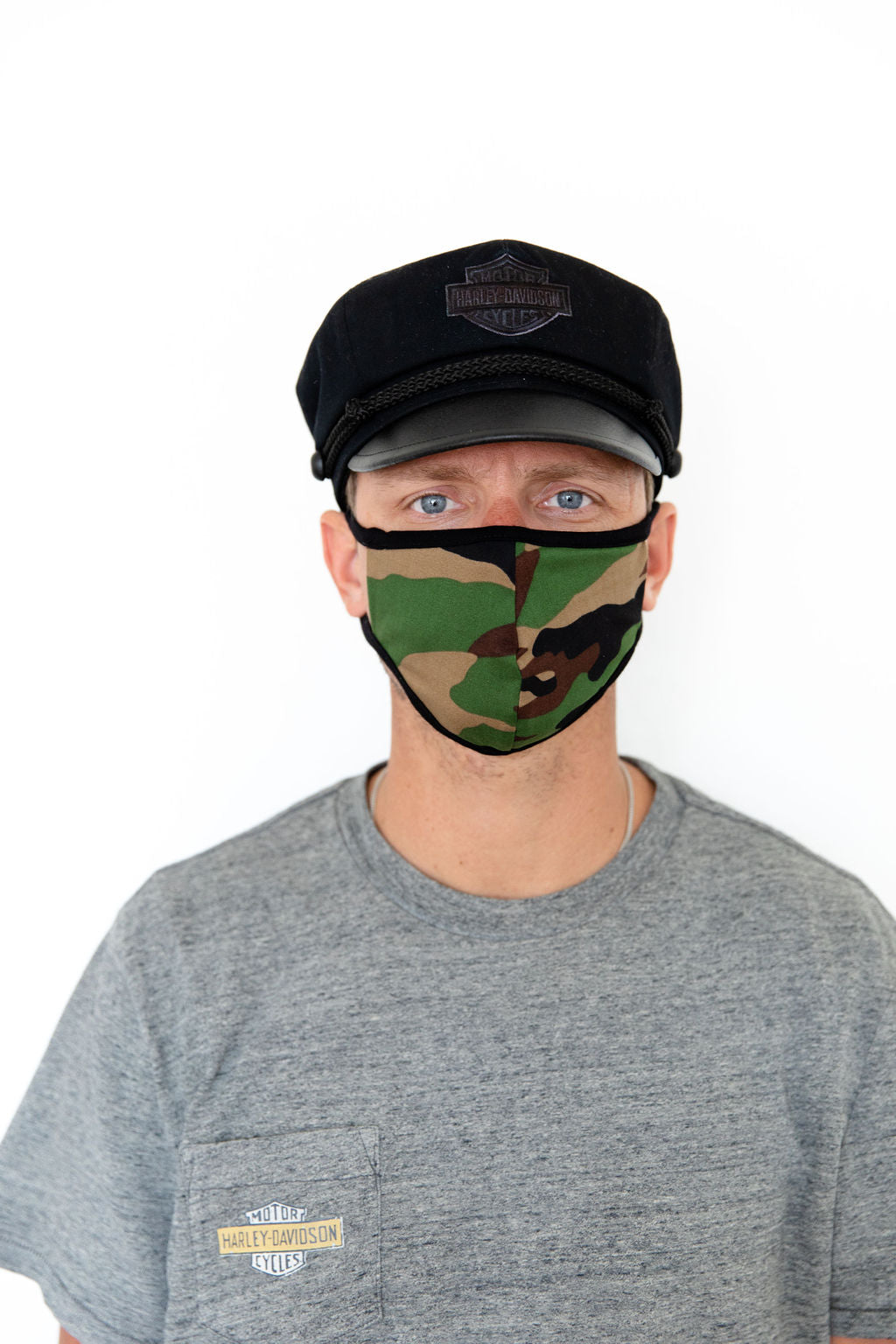 CAMO - ADULT FACE MASK