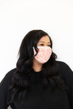 CORAL DAISY - ADULT FACE MASK