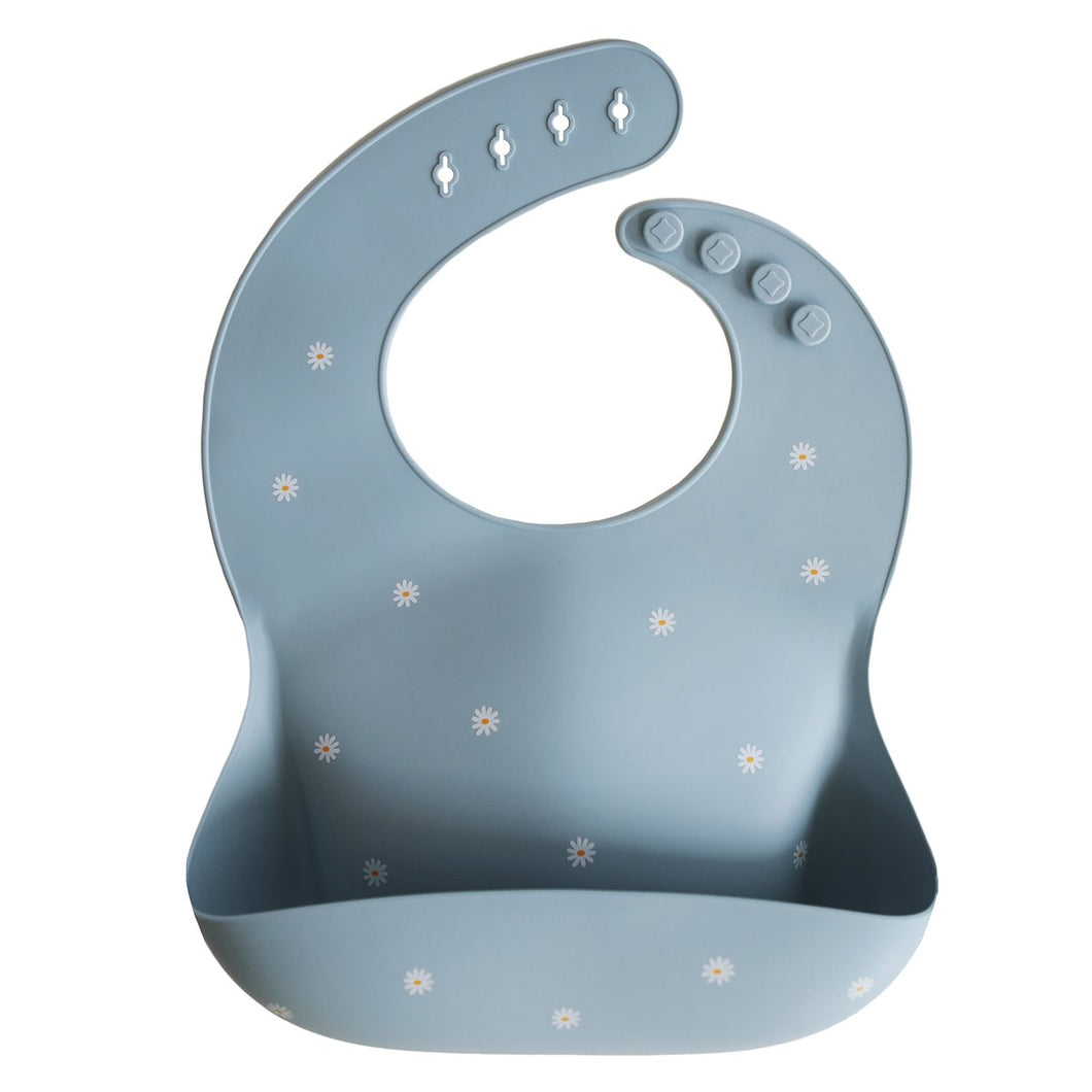 Adjustable Fit Waterproof Bibs - DAISY BLUE