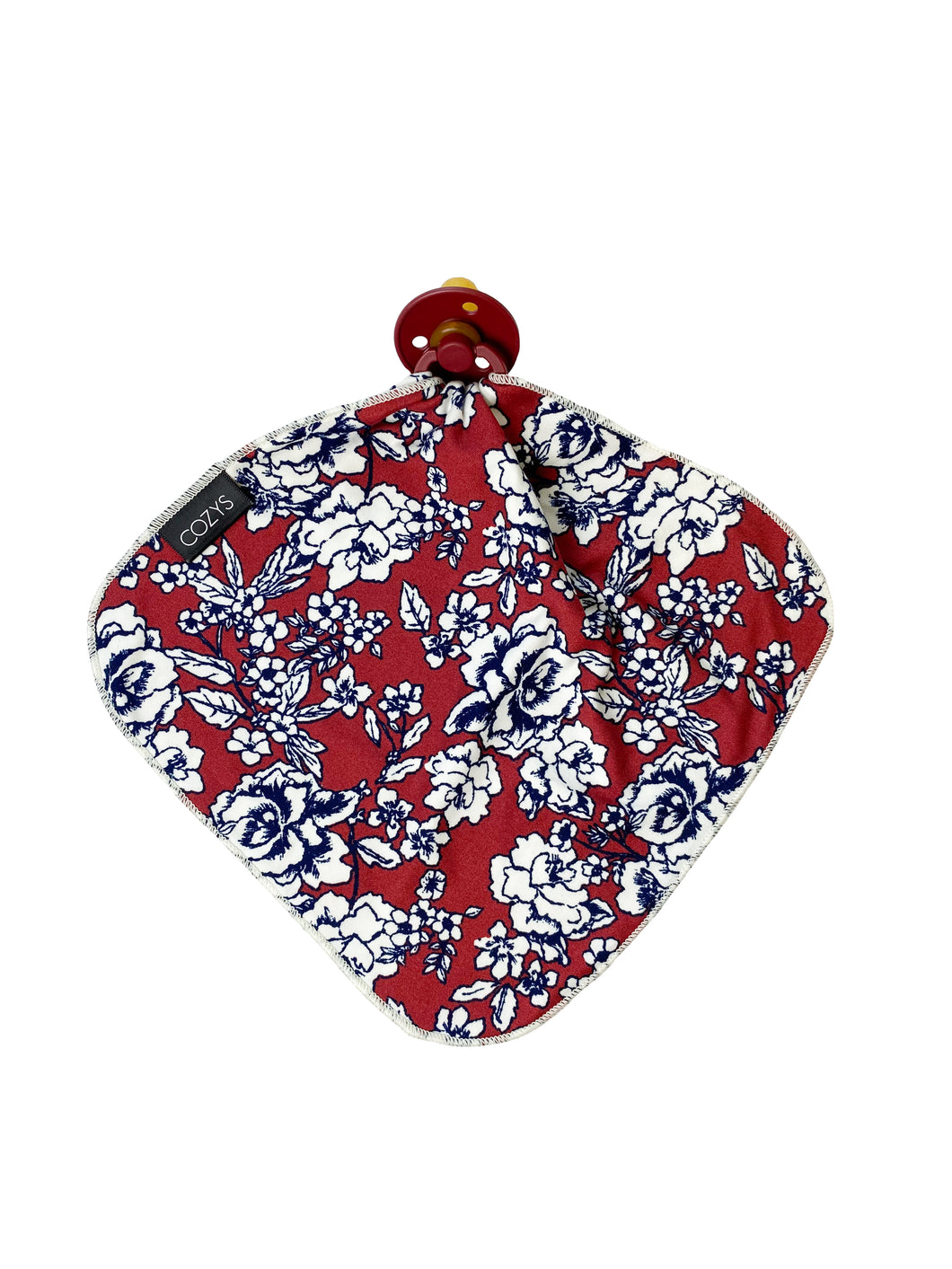 LOVIE - DARK RUST + NAVY FLORAL