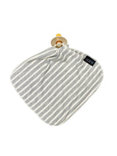 LOVIE - GREY + WHITE STRIPE