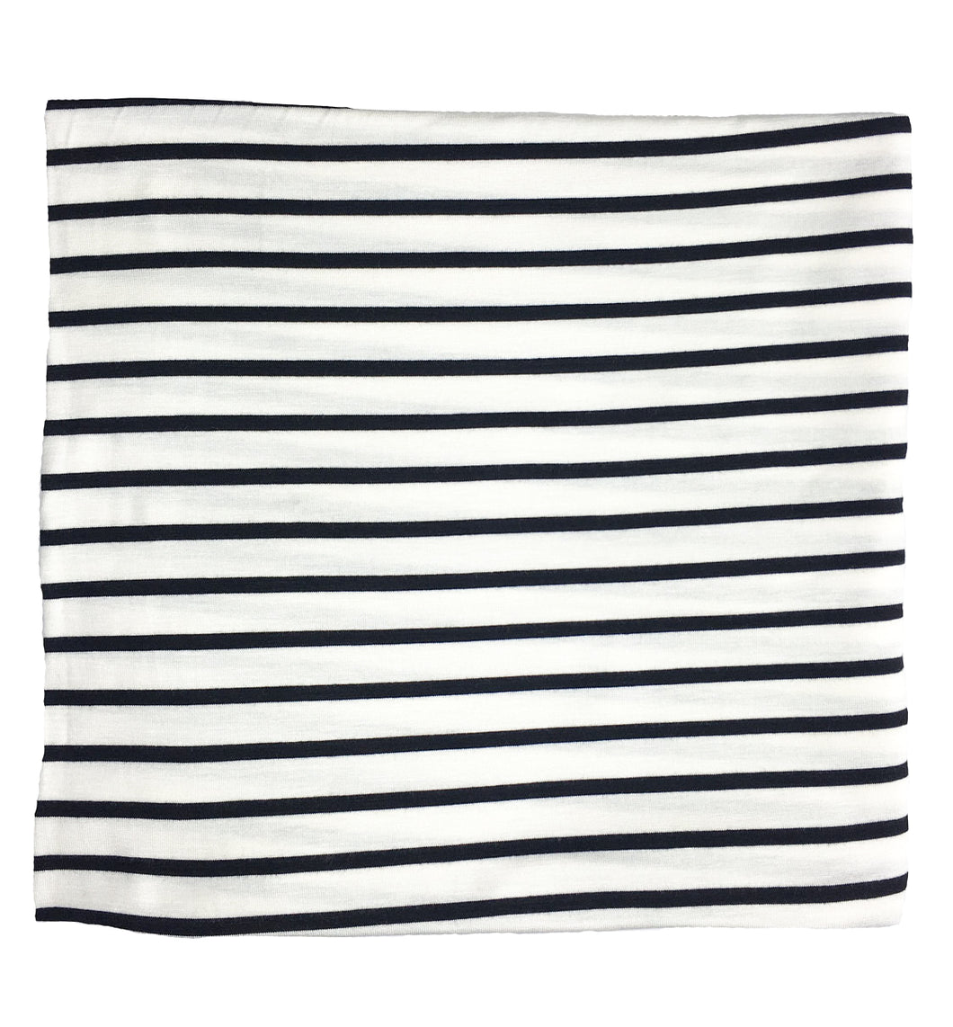WHITE + BLACK STRIPE
