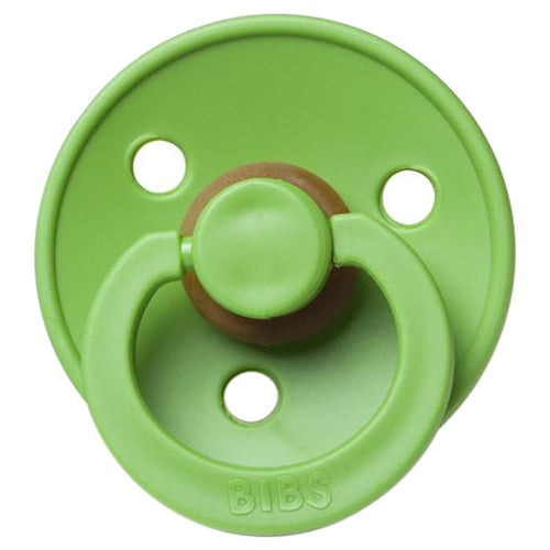 BIBS NATURAL RUBBER PACIFIER - WATERMELON GREEN