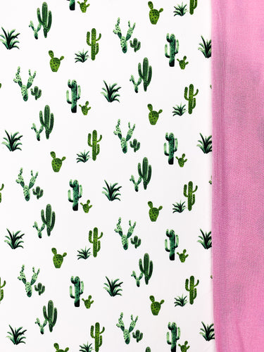 ARIZONA GREEN + BUBBLEGUM PINK