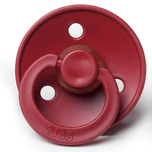 BIBS NATURAL RUBBER PACIFIER - WINE