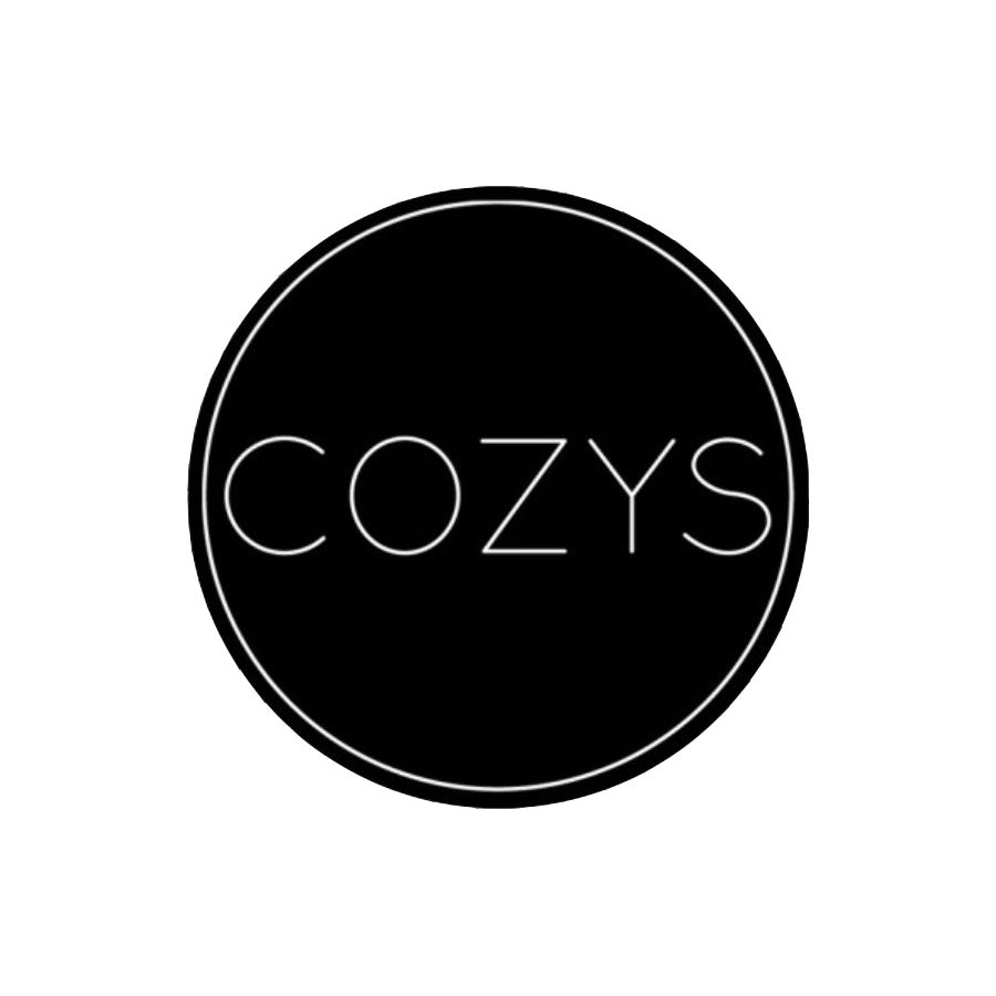 COZYS STICKER - BLACK
