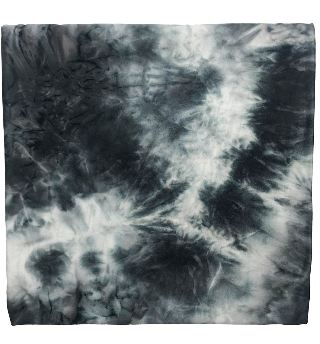 CHARCOAL TIE DYE SWADDLE