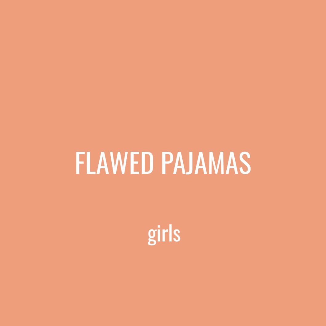 FLAWED KID PAJAMAS - GIRL