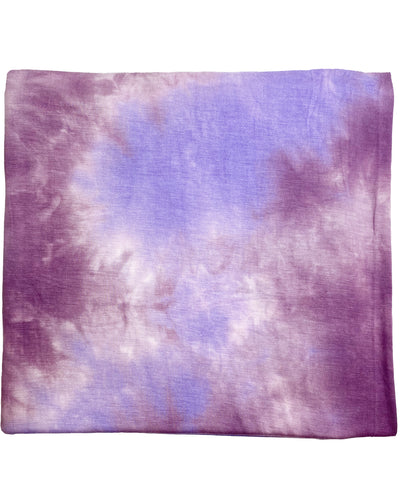 PURPLE + LAVENDER TIE DYE SWADDLE