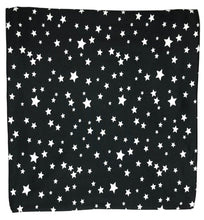 BLACK + WHITE STAR SWADDLE