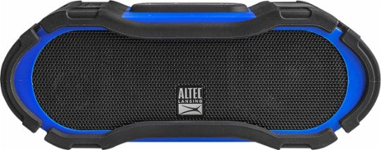 Altec Lansing Boom Jacket 2  Rugged Bluetooth Speaker- Blue