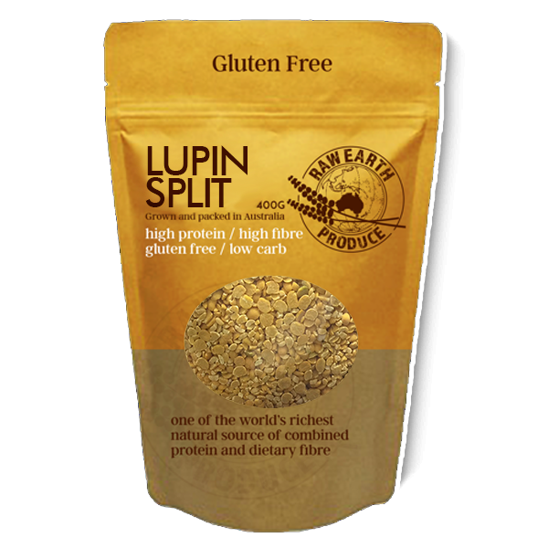 NEW! Lupin Split 400g