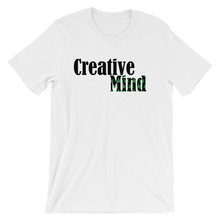 Creative Mind Unisex short sleeve t-shirt