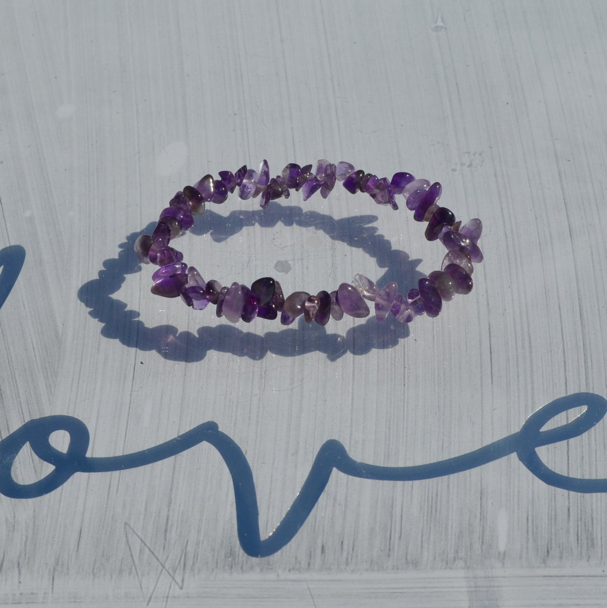 Amethyst Chip Necklace and Bracelet Set - Available Now at Illiom Crystals - We Have Afterpay
