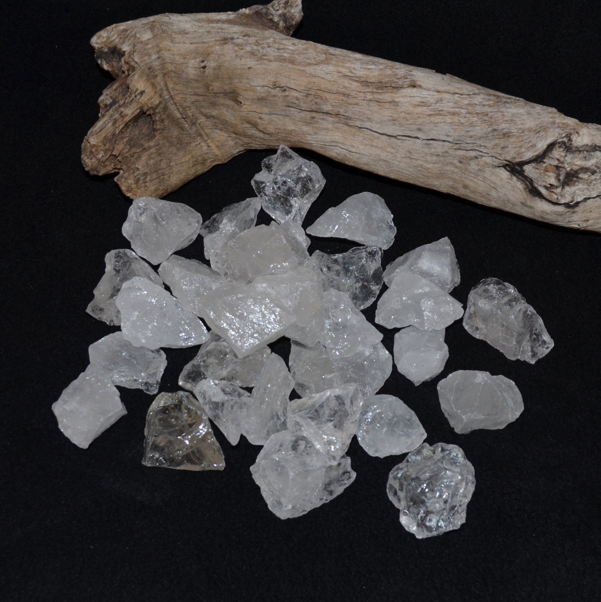 Clear Quartz Rough Chunks - Clarity Clearing Cleansing - Shop Now at Illiom Crystals - We have Afterpay