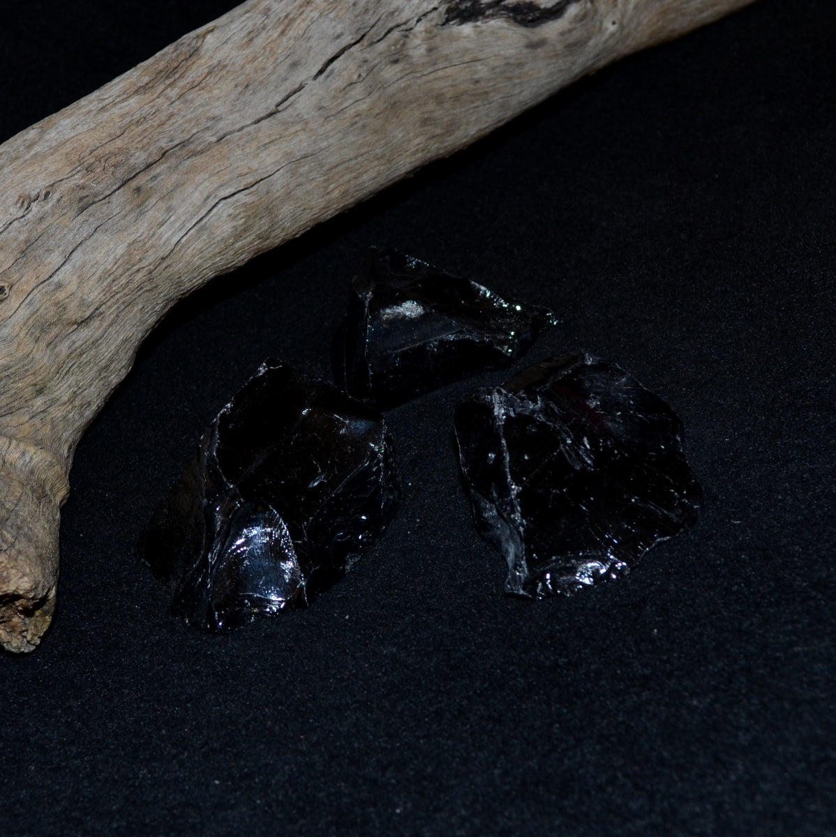 Black Obsidian Natural Rough - Negativity Protection Scrying - Shop Now at Illiom Crystals - Afterpay Available