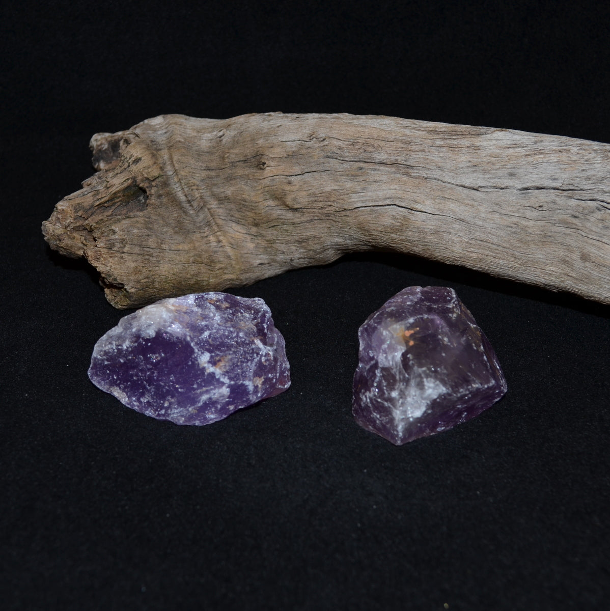 Amethyst Natural Chunks - Calm Intuition Addiction - Shop Now at Illiom Crystals - Afterpay Available
