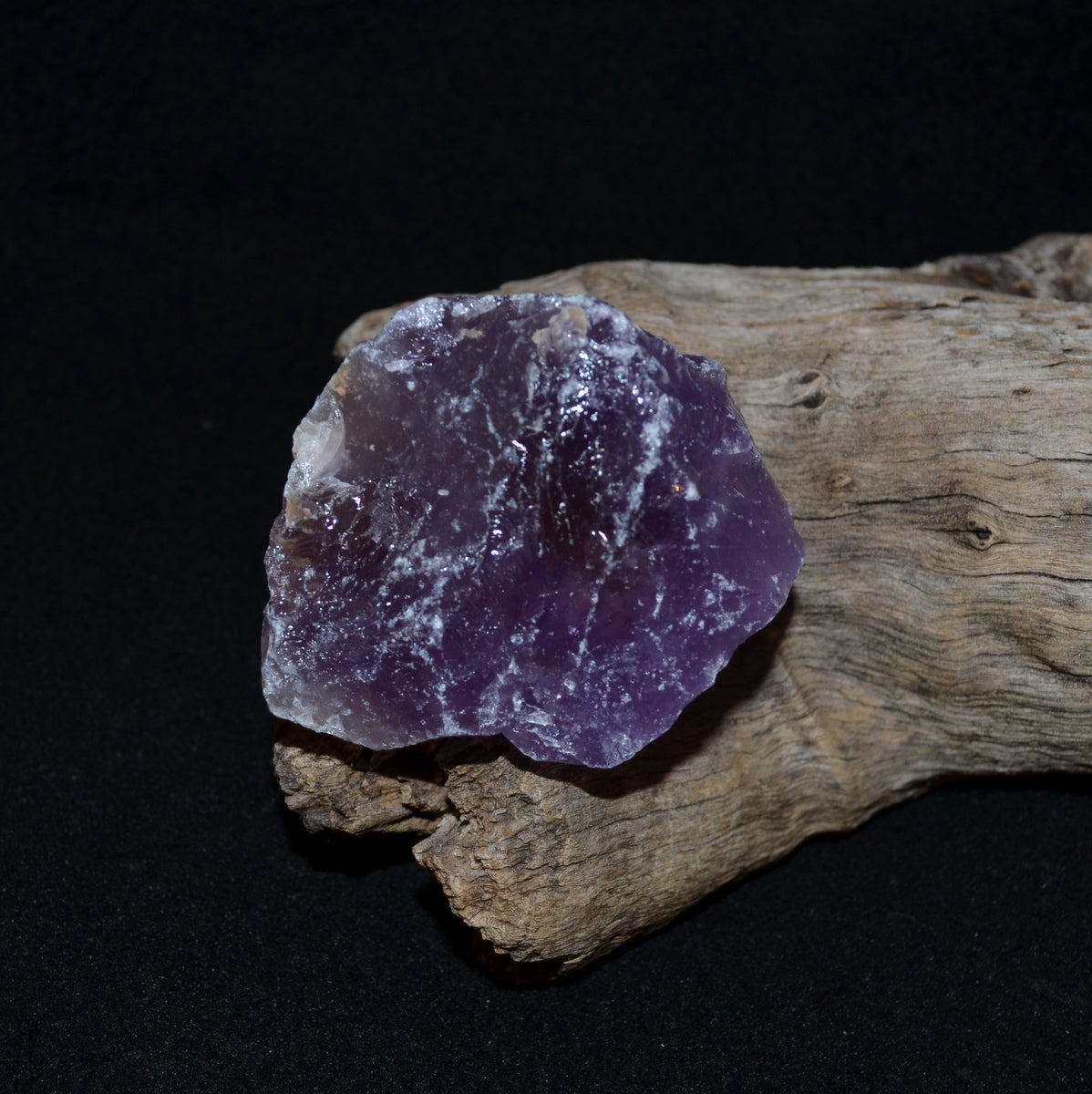 Ametrine Rough Piece - Calm Creative Abundance - Shop Now at Illiom Crystals - Afterpay Available