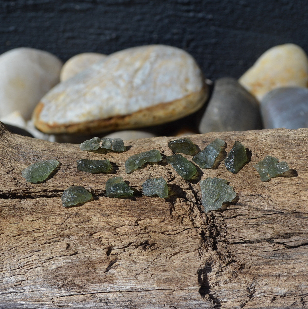 Moldavite Small Chips - Stone of Transformation - Illiom Crystals