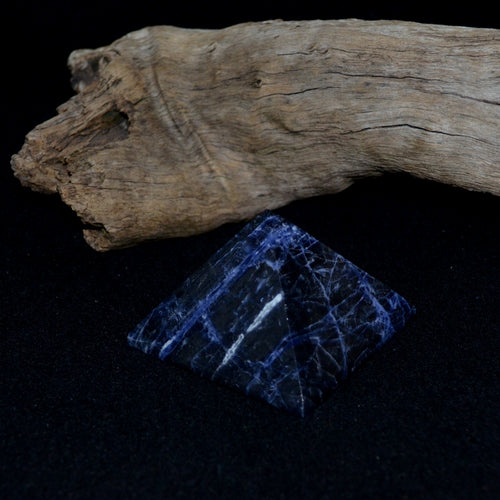 Sodalite Large Pyramid
