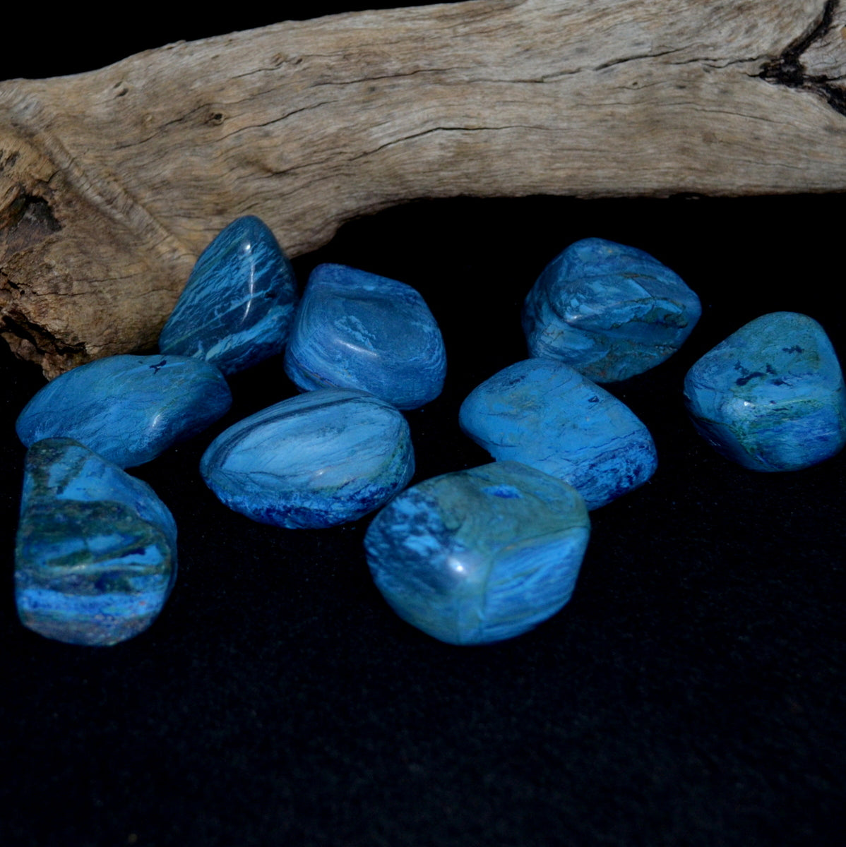 Azurite Hand Polished Freeform - Focus Intuition Connection - Shop now at Illiom Crystals - Afterpay Available