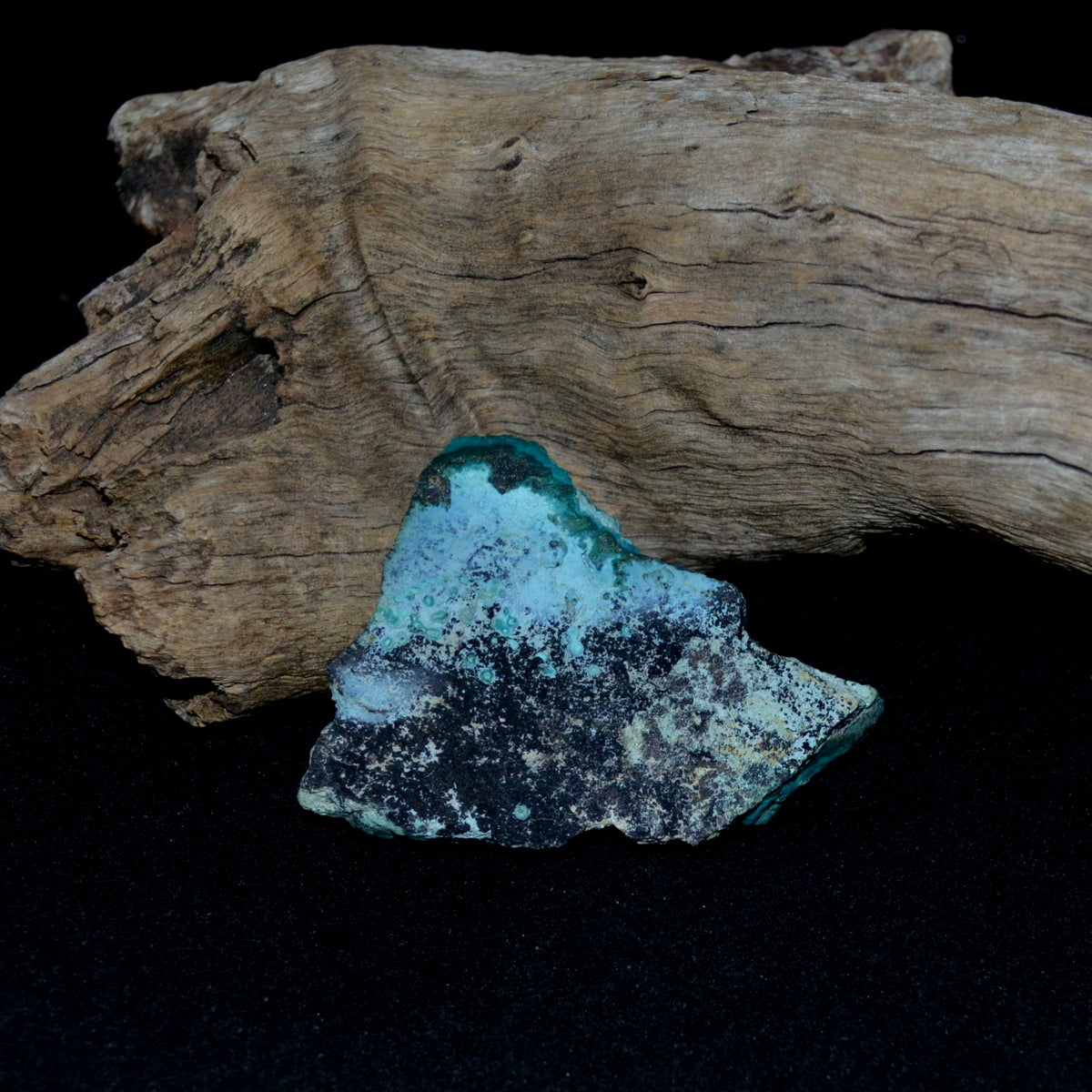 Chrysocolla Malachite Natural Specimen - Protective Truth Emotional Healing - Shop Now at Illiom Crystals - Afterpay Available