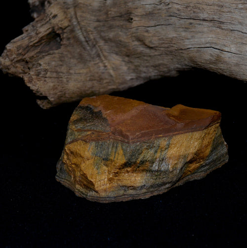 Blue Gold Tiger Eye Natural Chunk Africa (T5-13)