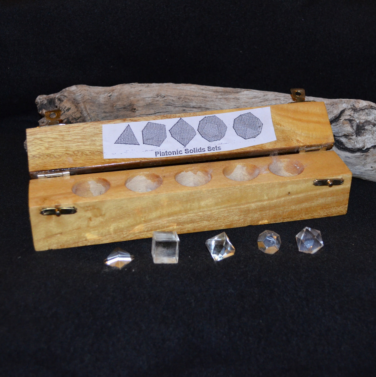 Clear Quartz Sacred Geometry Set - Ascension Spiritual Tools - Shop Now at Illiom Crystals - Afterpay Available