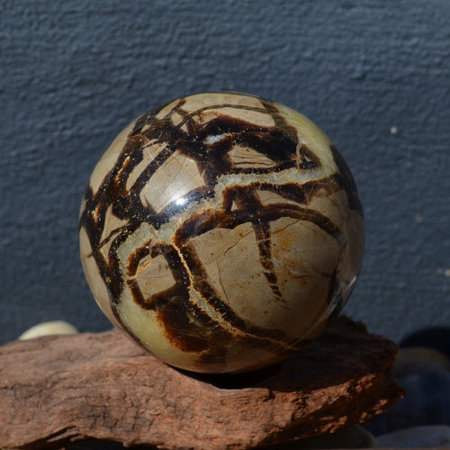 Septarian Dragon Stone Gemstone Sphere (T16-7A)