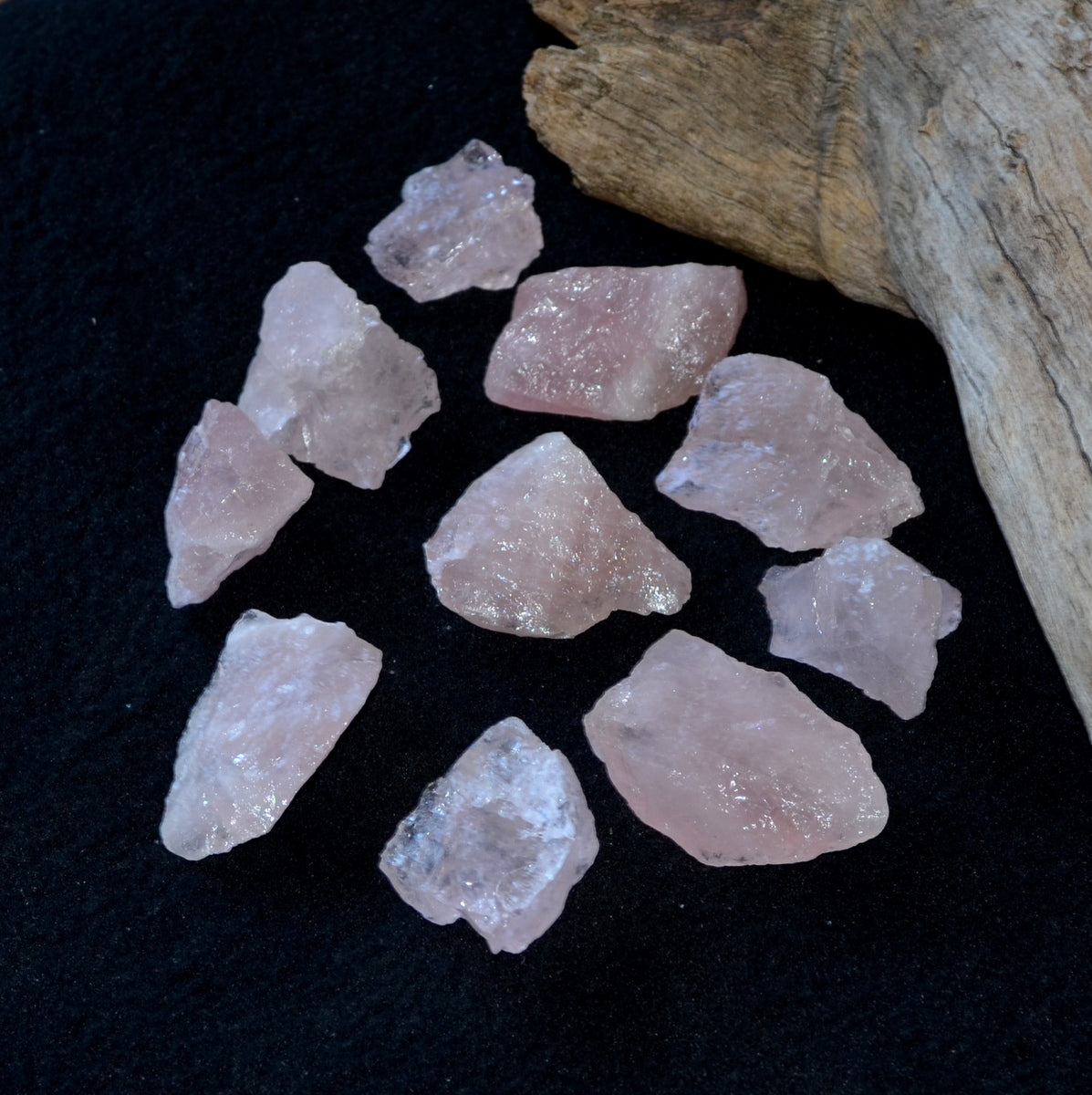 Rose Quartz Rough Chunks - Heart Love Compassion - Shop Now at Illiom Crystals - We have Afterpay
