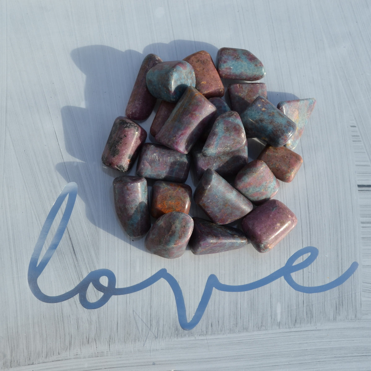 Ruby in Kyanite Tumbles - Protection Balance Nurturing Passion - Shop Now at Illiom Crystals - Now with Afterpay